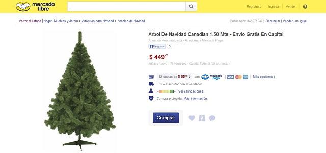 Consejos para la compras navideñas en MercadoLibre