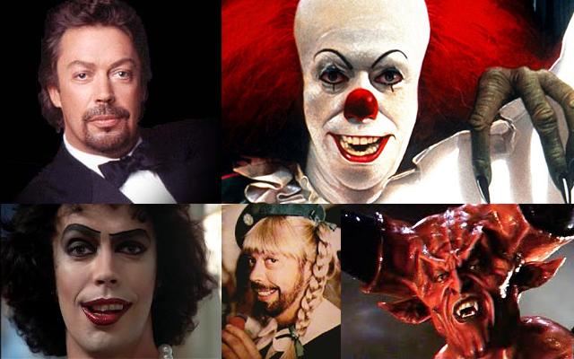 Grandes actores detrás del maquillaje