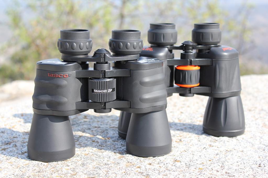 Tasco y Celestron binoculares 10x50