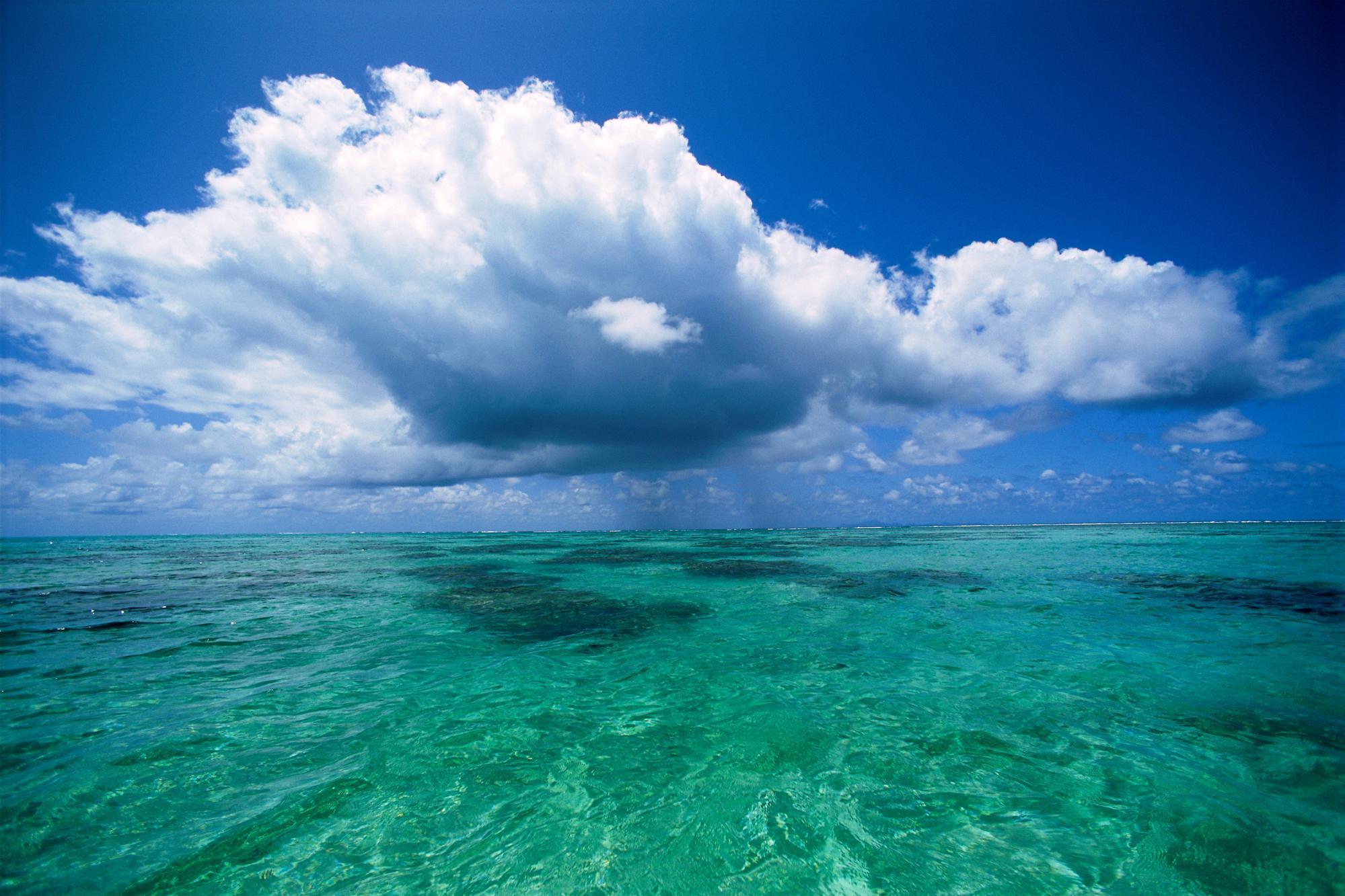 agua dulce debajo del mar