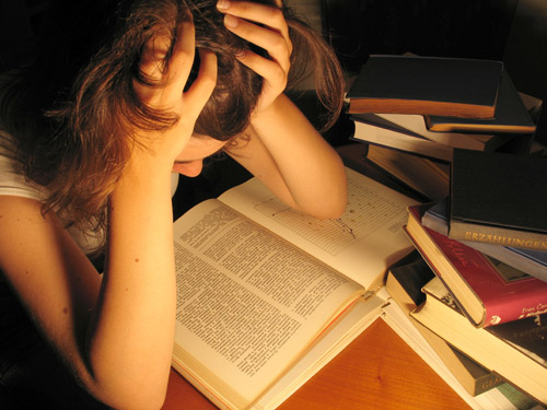 stress por los estudios