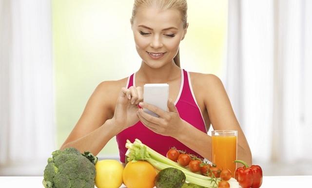 Cinco aplicaciones que te ayudarán a comer sano