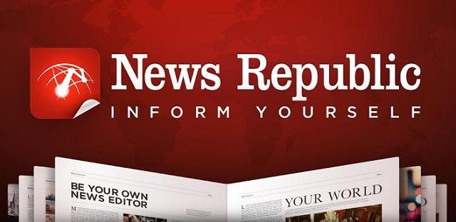 News Republic - moderno gestor de noticias para estar siempre actualizado