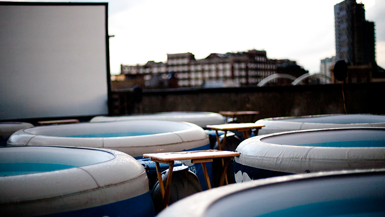 #4 Hot Tub Cinema