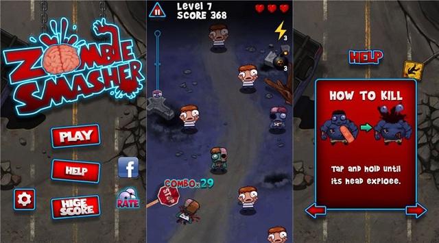 Los cinco juegos más populares de zombies para Android