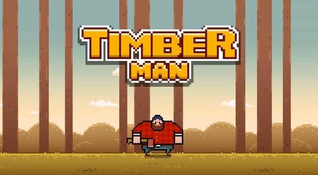 Timberman - nuevo juego adictivo para usuarios móviles