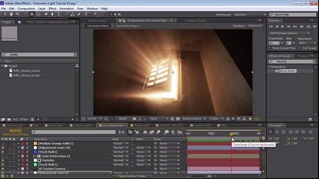Adobe After Effects nos brinda la posibilidad de dar movimiento a las imágenes en 2D y 3D.