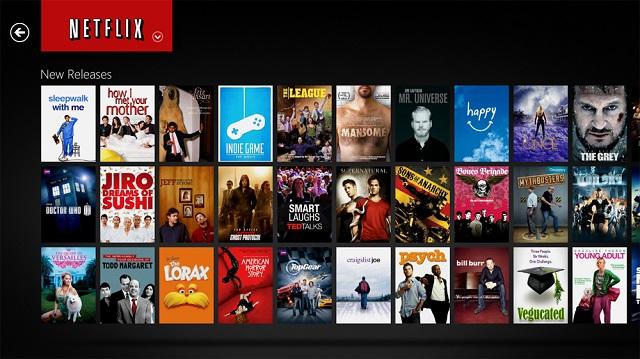 Aplicaciones de programación de Netflix