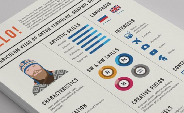 Cuida el diseño de tu CV, dependiendo del tipo de trabajo al que estamos postulando.