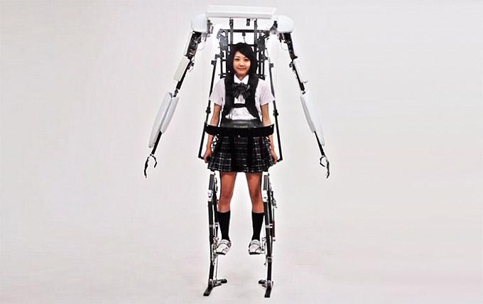 3. Exoesqueletos para personas con discapacidad