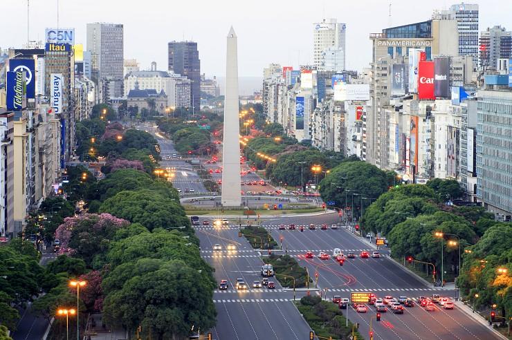 #4 Avenida del 9 de Julio, Buenos Aires (Argentina)