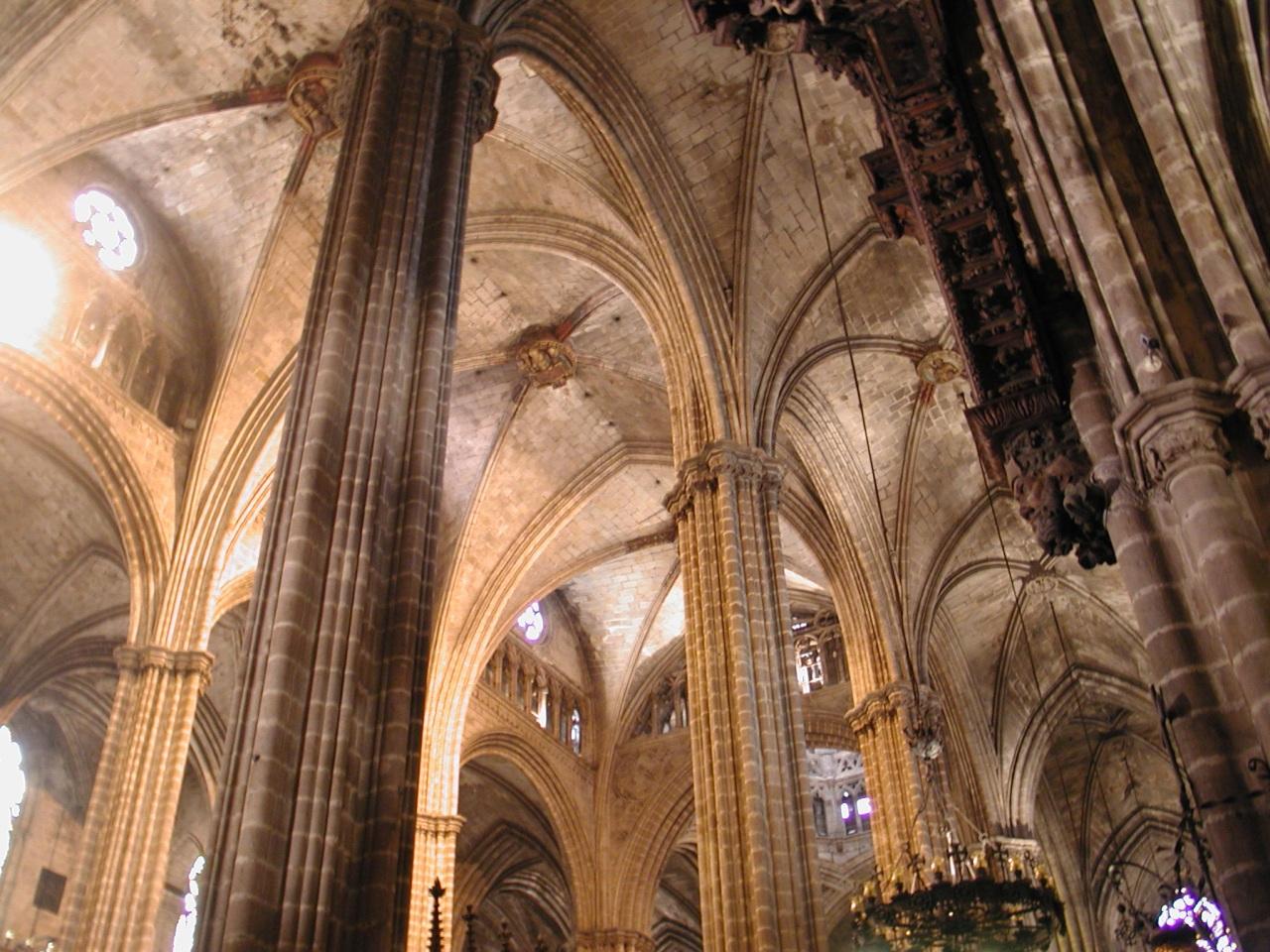 hierro construccion arquitectura medieval