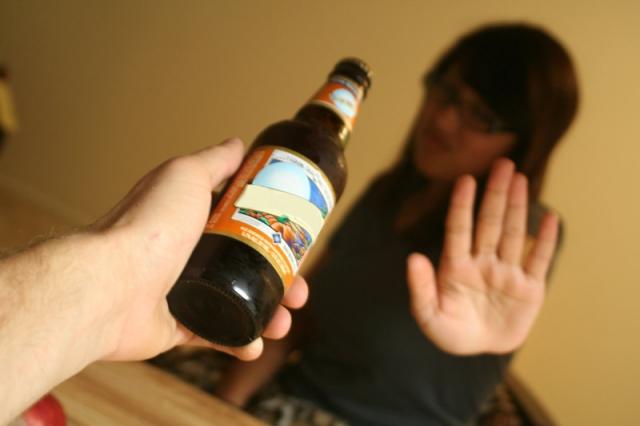 menos alcohol