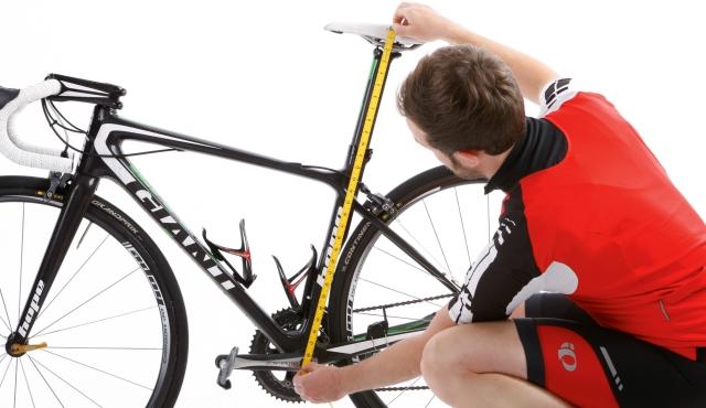 altura largo de asiento de bicicleta