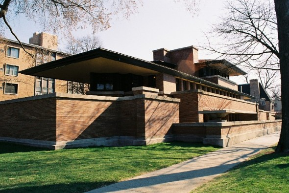 2 - Casa Robie- Illinois, 1909