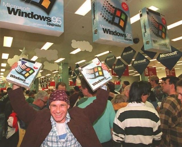 Lanzamiento Microsoft 95