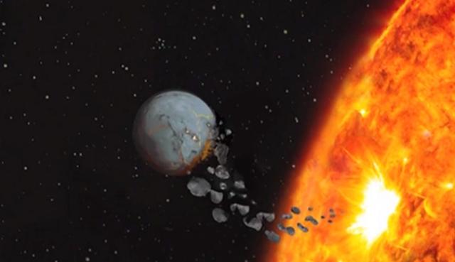 tierra trago proto planeta mercurio origen del planeta tierra