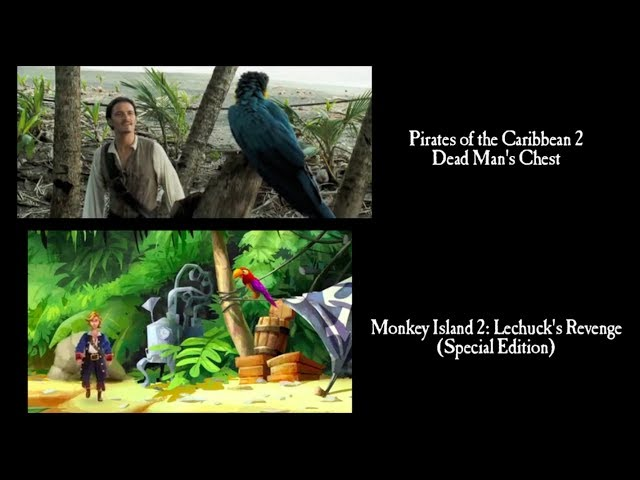 Piratas del Caribe y el videojuego The Secret of Monkey Island