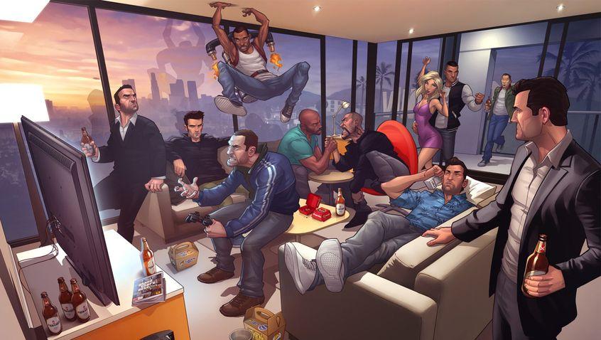GTA 1 - Todos los protagonistas de la serie de juegos