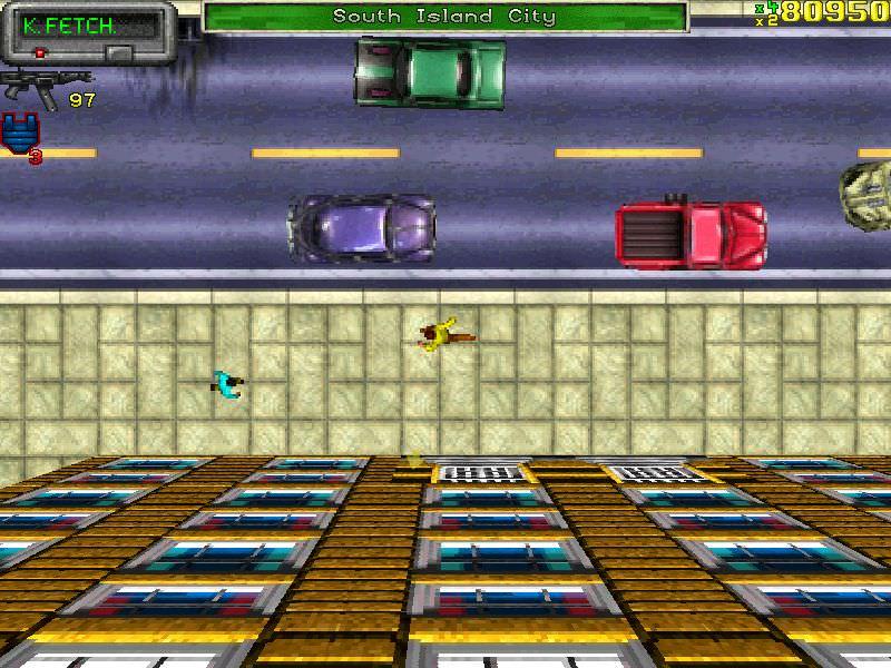 GTA 2 - El primer Grand Theft Auto, lanzado en 1997