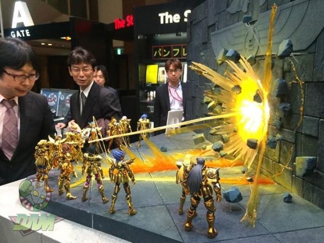Diorama de los Caballeros del Zodíaco, popular serie de anime