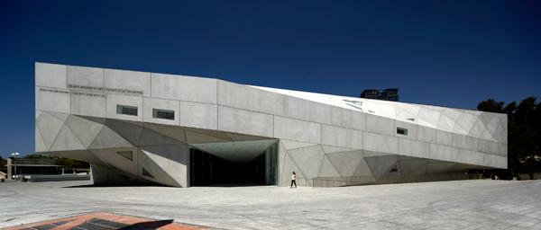 Museo de Arte de Tel Aviv - Arquitectura