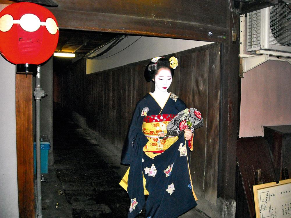 Geishas en Kioto Japón