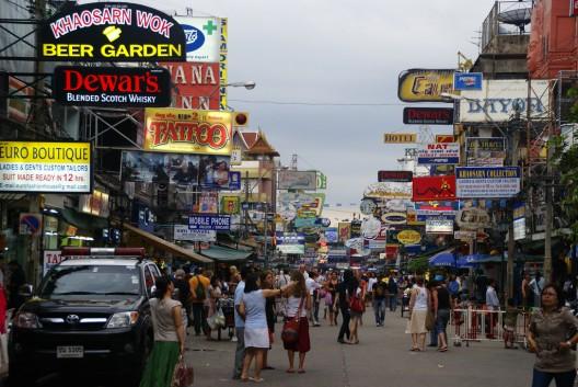 Khao San, Bangkok.