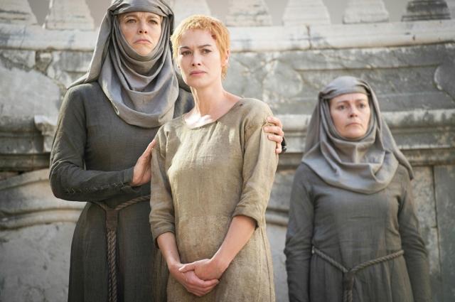 Cersei en su Walk of Shame