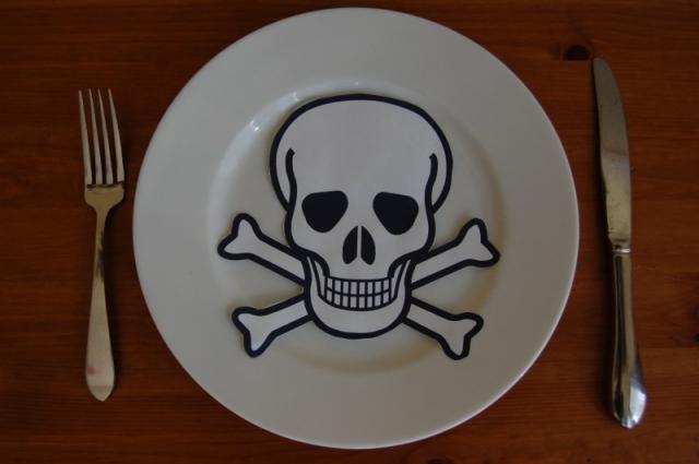 alimentos mortales veneno