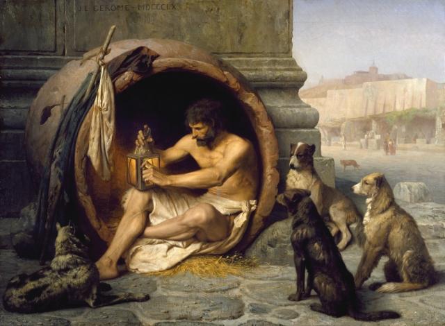 filosofo diogenes solitario