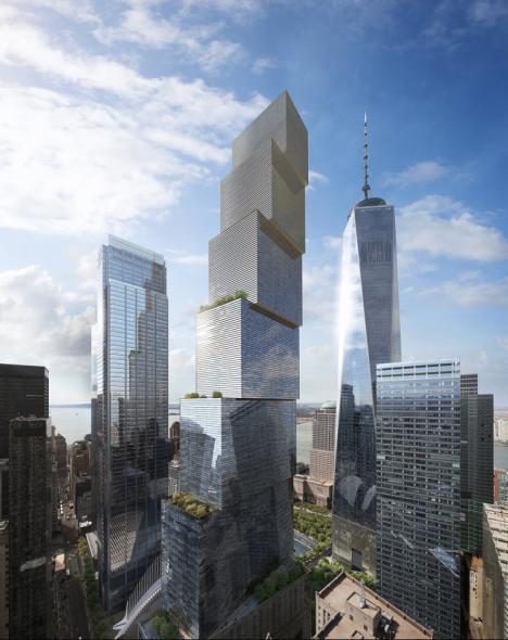 la futura torre.