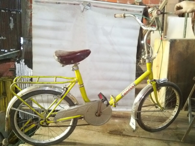 Antigua Bicicleta Aurorita Plegable