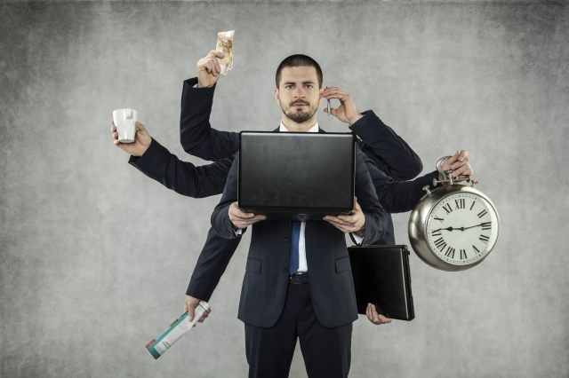 persona productiva pesona ocupada