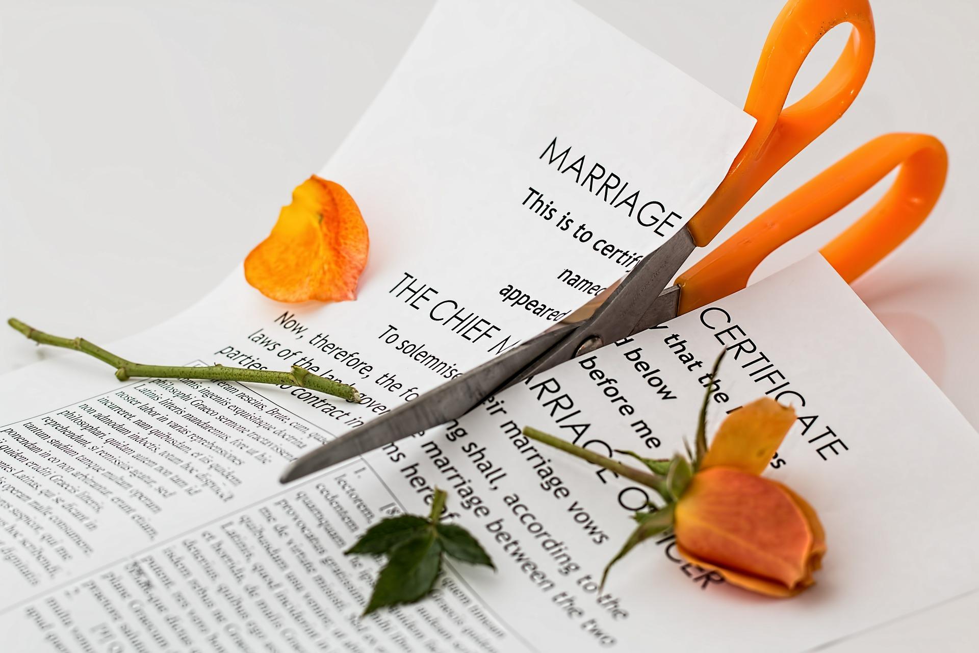 Algunas señales de que tu matrimonio está en peligro