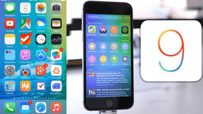11 nuevas funciones que podrás disfrutar con iOS 9, el nuevo software de Apple