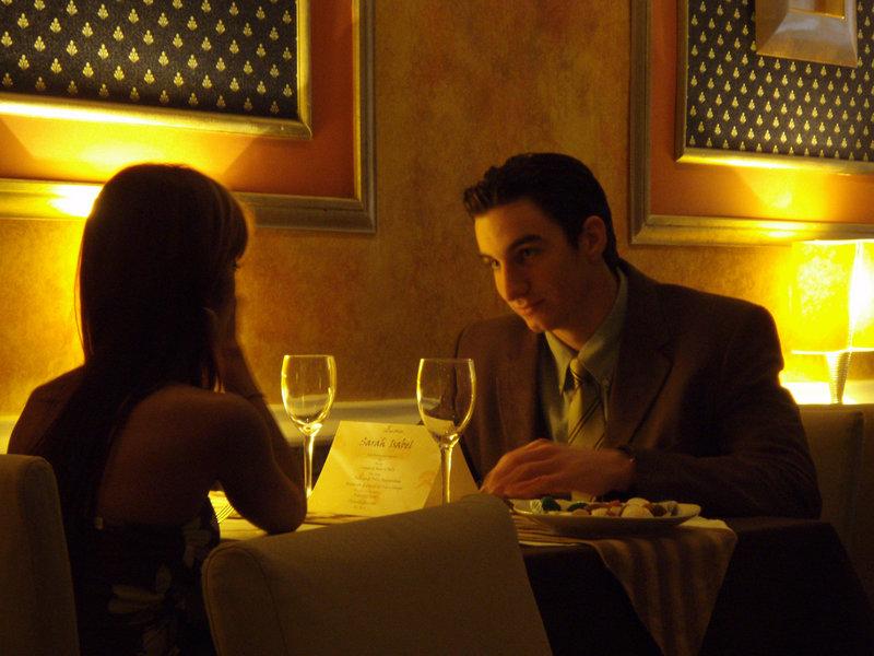lugares para una cena romantica: