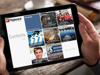 Crea una revista personal con Flipboard