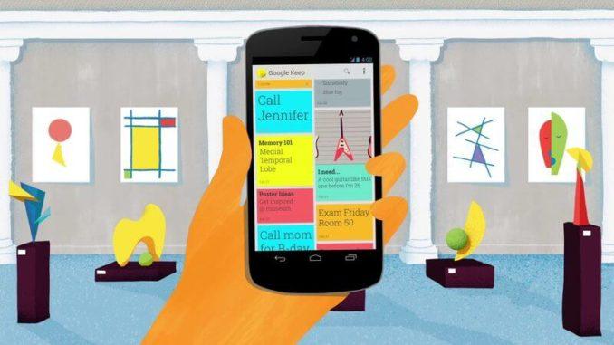 Google Keep: la mejor app para organizar tu día