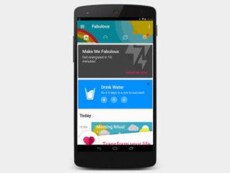 Fabulous: entrenador personal gratuito para Android
