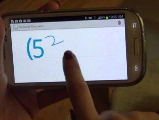 MyScript Calculator, app para hacer operaciones complejas