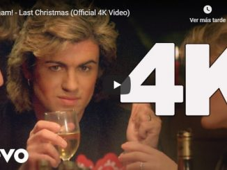Last Christmas de Wham remasterizada en 4K