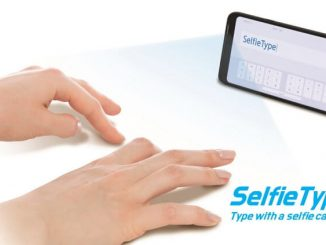SelfieType de Samsung. Teclado virtual invisible